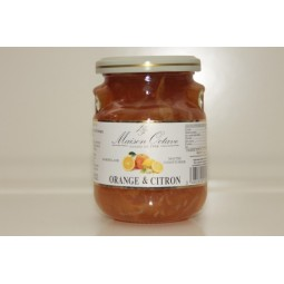 Confiture Orange & Citron